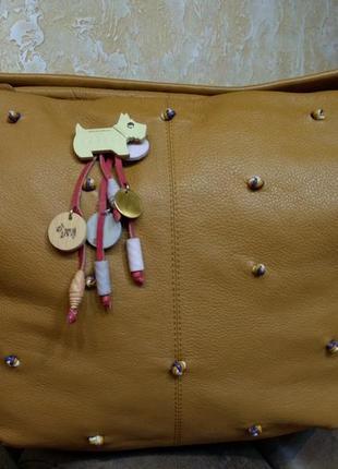 Шикарная кожаная сумка  radley