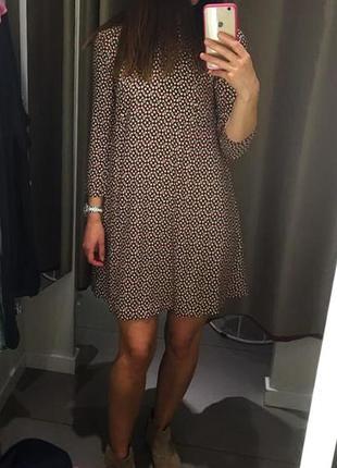 Красивое платье от h&m вискоза с-м