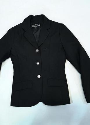 Пиджак редингот для верховой езды, для девочки hkm, как новый!
