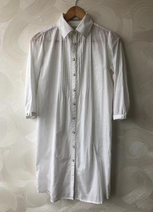 Длинная блузка рубашка maison scotch