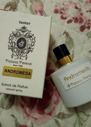 Andromeda tiziano terenzi tester extrait de parfum 100 ml концентрация духи