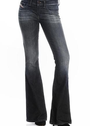 Шикарные джинсы клеш от diesel, 31/32 оригинал!