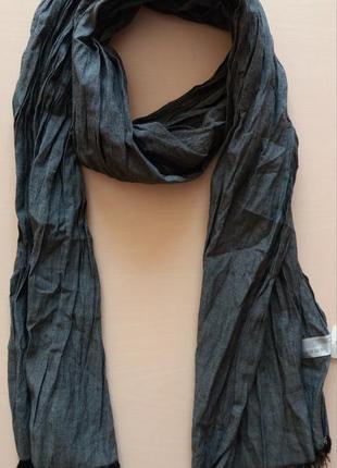 Хлопковый шарф шарфик  унисекс     голландского бренда c&a