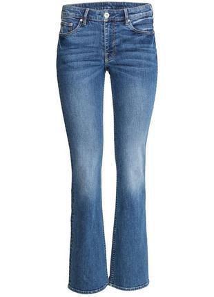 Стильные трендовые джинсы клеш boot cut
