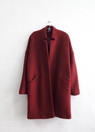 Стильное пальтишко с карманчиками на запах, бренда topshop,подойдет на 44,46 р.