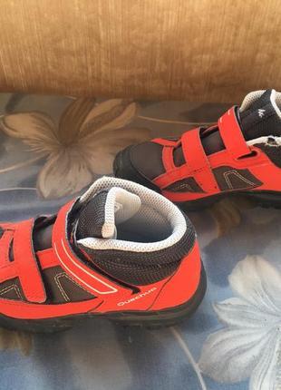 Мембранные ботинки quechua3 фото