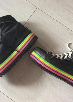 Ультрамодные стильные  кеды, ботинки