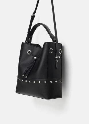 Новая сумка-мешок zara
