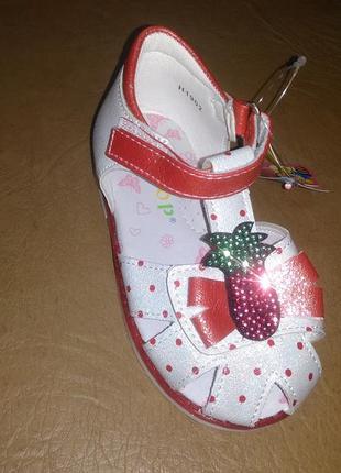 Босоножки 21-26 р. y-top на девочку сандалии, босоніжки, сандалі, летние, ортопед, закриті