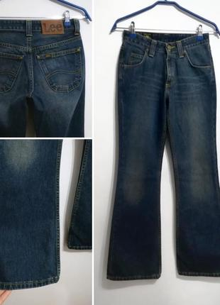 Идеальные джинсы клеш из плотного джинса, lee, s-m