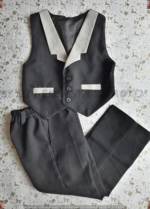 Новый класический костюм двойка на мальчика 4-5 лет