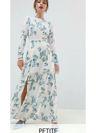 Красивое платье с разрезами