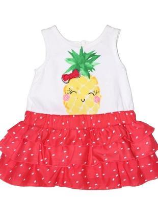 """Новое платье """"ананас"""" для девочки, ovs kids, 838409"""