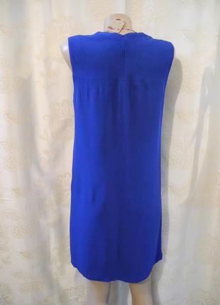 Распродажа платьев!стильное фирменное прямое платье миди massimo dutti, размер s6 фото