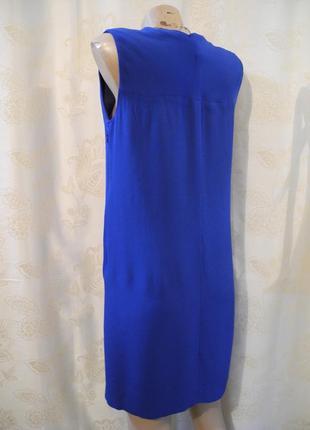 Распродажа платьев!стильное фирменное прямое платье миди massimo dutti, размер s5 фото