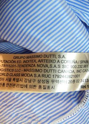 Распродажа платьев!стильное фирменное прямое платье миди massimo dutti, размер s8 фото