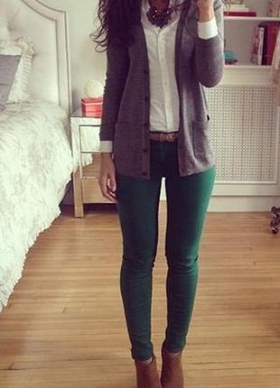 Стильные джинсы котоновые брюки на высокий рост с-м pepper z  из голландия