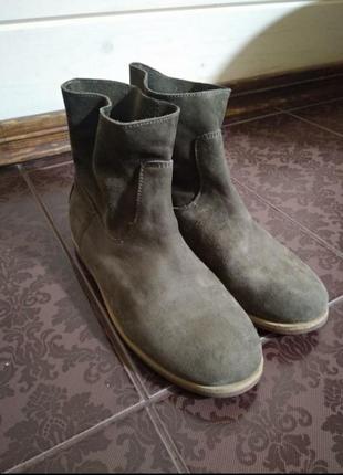 Ботинки из натуральной кожи1