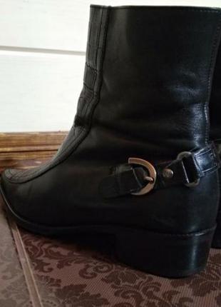 Ботинки из натуральной кожи3