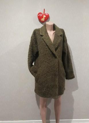 Пальто теплое oversize