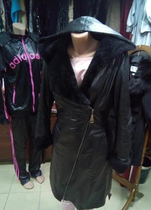 Реально классное пальто-дубленка!!!