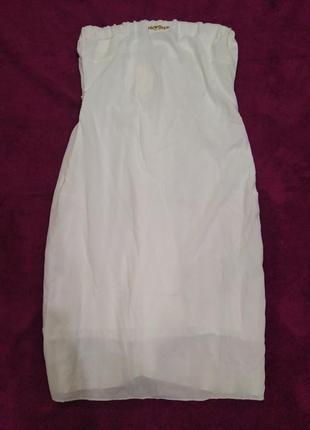 Нежное летнее белое платье