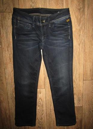 Джинсы укороченные джинсы р-р 12 бренд g-star