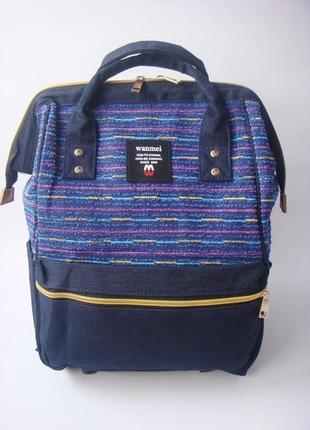 Стильный рюкзак-сумка wanmei