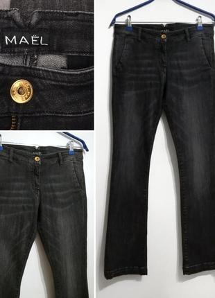 Фирменные джинсы клеш bootcut maël, mael, оригинал! m-l