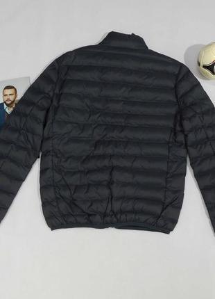 Серая  мужская демисезонная куртка италия