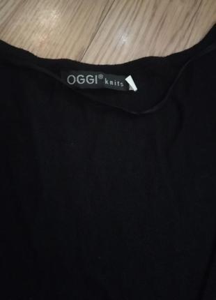 Oggi платье чёрное4 фото