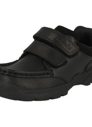 Туфли clarks 30(12g)р,ст 20 см.мега выбор обуви и одежды!