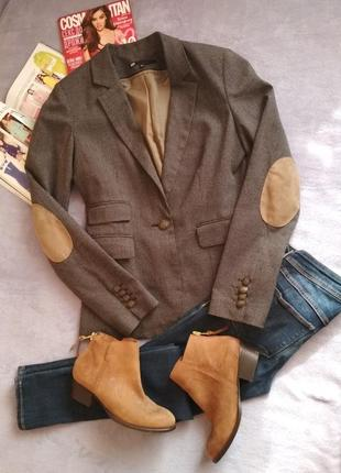 Стильный клубный пиджак мягкий жакет1 фото