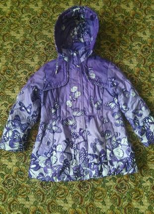 Курточка на девочку, демисезонная
