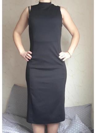 Платье от  calliope, черное, длинное