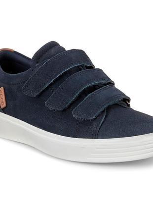 Ecco s7 teen - кожаные полуботинки