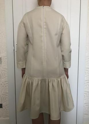 Платье @don.bacon слоновая кость с вышивкой3 фото