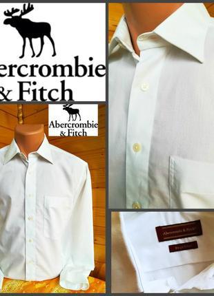 283f65348ce Нарядная белоснежная рубашка для торжественных случаев от  abercrombie fitch