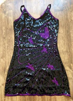 Красиве плаття з паєтками