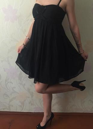 Шикарное вечерние платье s/m