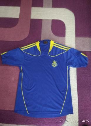 Футбольна футболка україни