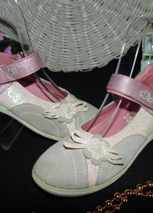 Модные туфли s.oliver 29р,ст 19 см.мега выбор обуви и одежды!