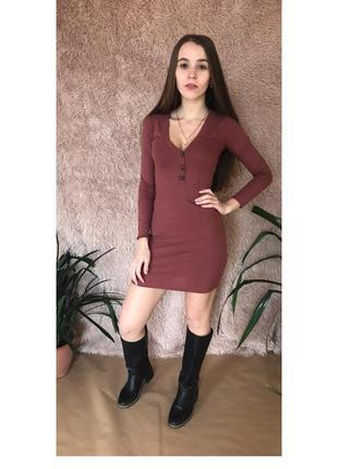 Платье мини pull&bear xs