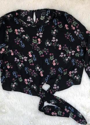 Стильная блуза в цветочный принт atmosphere р. xxxl-xxxxl