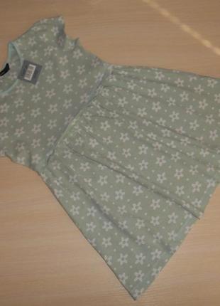 Платье, сарафан трикотаж george 4-5 лет, 104-110 см, оригинал