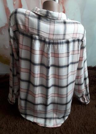 Клетчатая рубашка р-р л-462