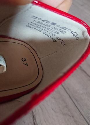 Туфли на каблуке тамарис tamatis  36-37 р 24 см классика6 фото