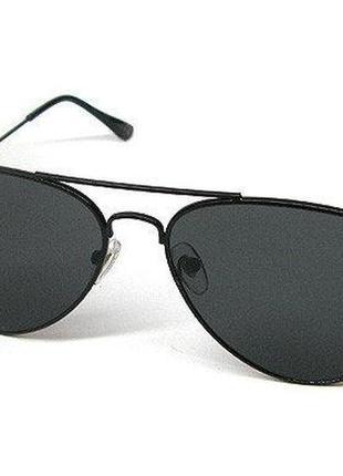 Черные очки капельки унисекс