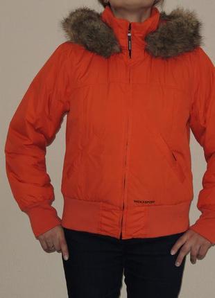 Спортивная лыжная теплая куртка mexx р.l