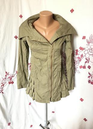 Шикарная тонкая куртка парка на осень/весну  1+1=3 🎁